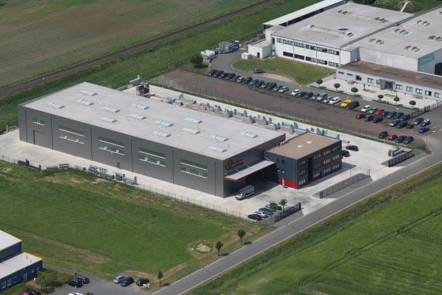 Luftbild der Firma Bruckamp