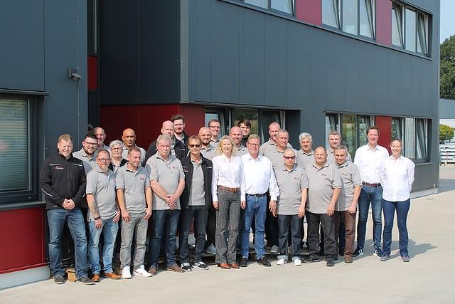 Das Team der Firma Bruckamp